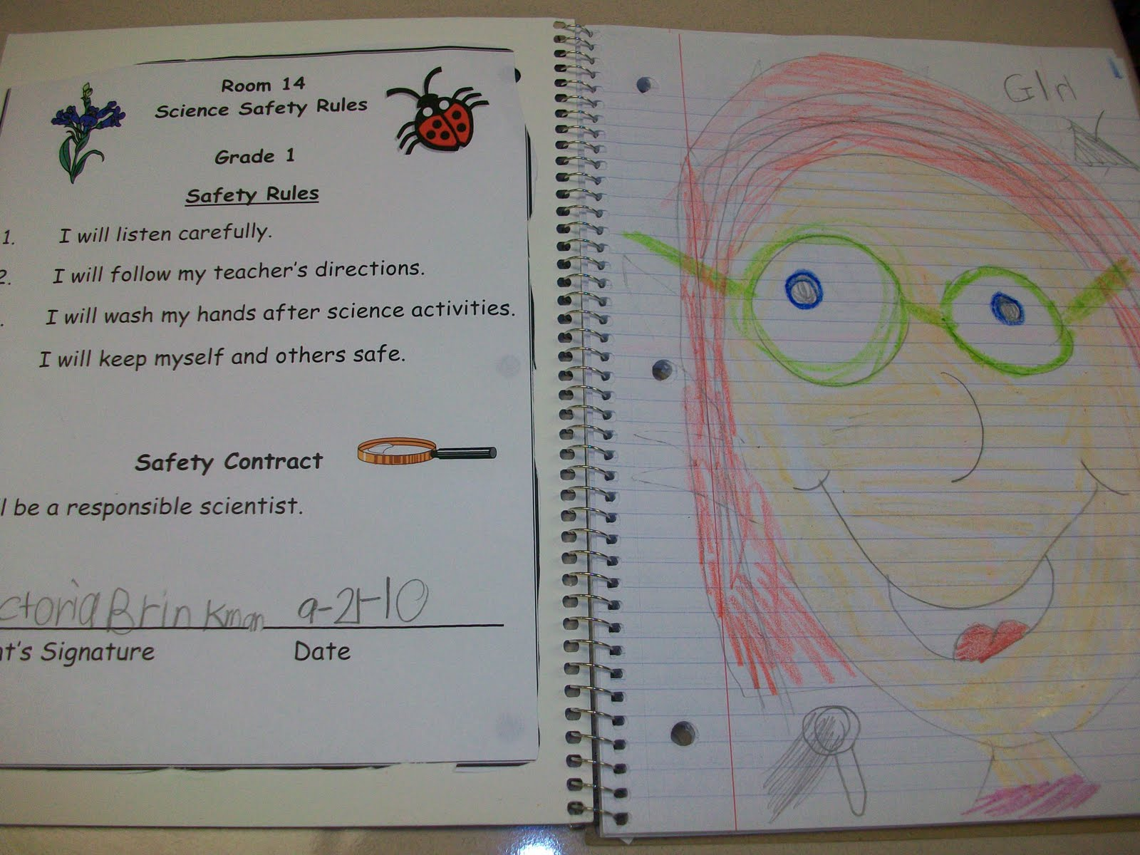 Mrs Wheeler S First Grade Tidbits Science Notebooks