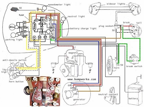 Bmw R51 3 Wiring Diagram 2000 Civic Si Fuse Box Elect Friendship Bracelet Diagrams ~ Elsalvadorla