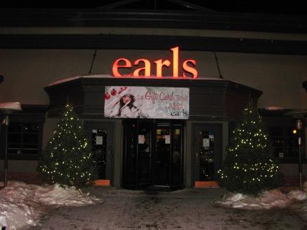 Teena in Toronto: Earls Kitchen & Bar, Winnipeg, MB