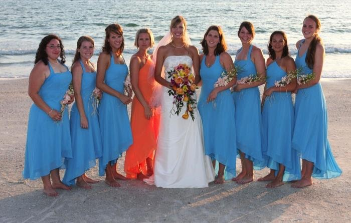 Coco Myles Dress Blog: Bridesmaid Dresses On The Beach