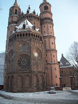 Time In Germany Cathedral Of St. Peter Worms