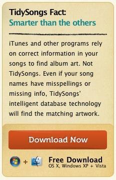 tidysongs: Use Tidysongs Album Art To Fix Your Digital Music