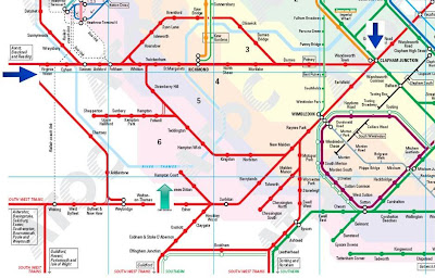 Some info about Trains From Hampton Court To Waterloo