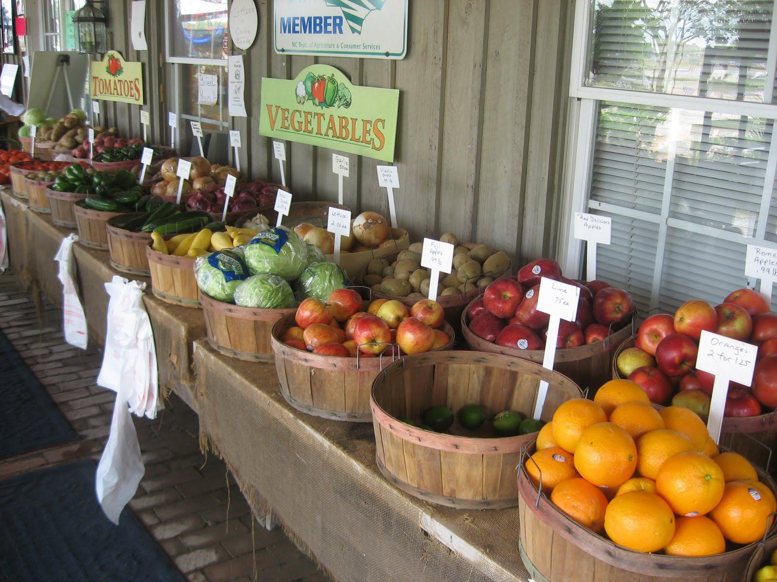 Village Farmers Market Store on Hwy 42 in Clayton sells