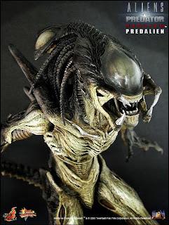 hot toy's aliens vs predator: requiem 1/6 snap kit figures