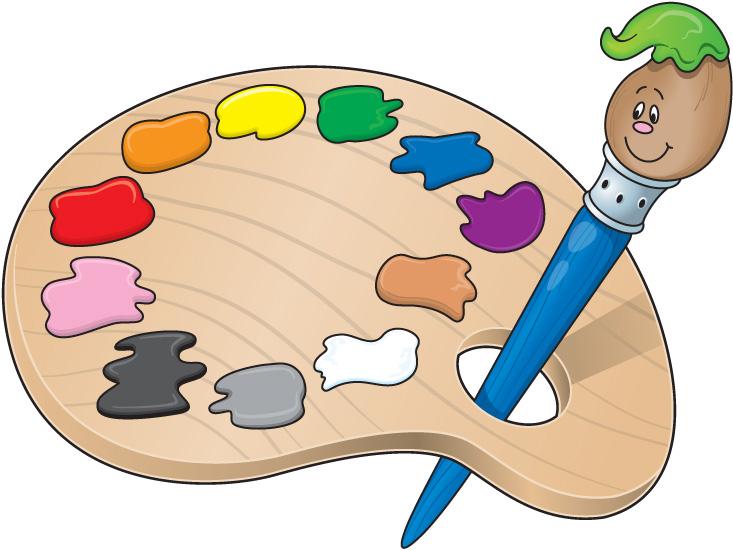 paint palette clip art - photo #13