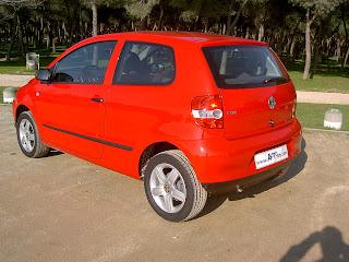 VW Fox camuflado en Argentina 5