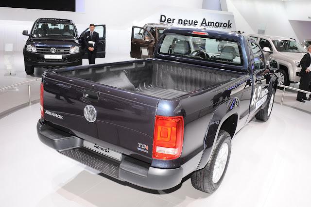 VW Amarok Single Cab 5