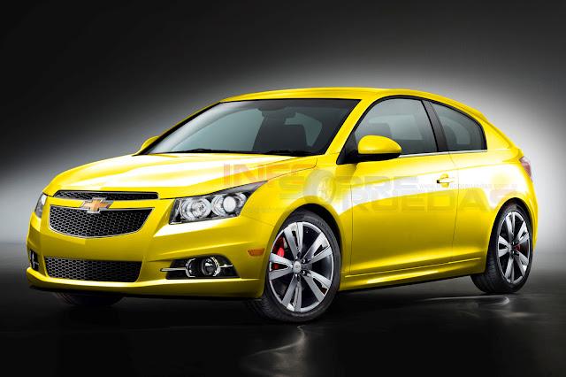 Así podría ser el Chevrolet Cruze 3 puertas 2