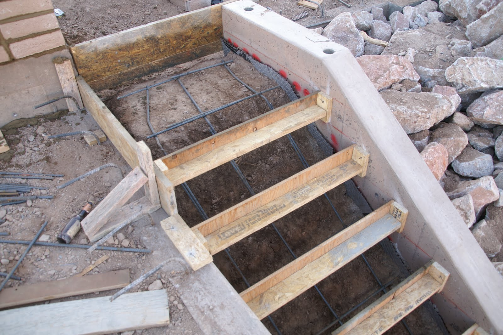 M S Concrete And Metal Works Stairs At The Concession