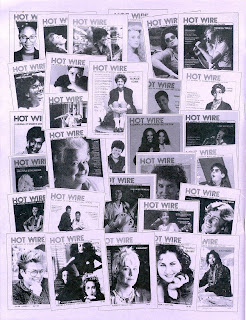 Hot Wire, Journal of Women's Music and Culture, 1984-1988, image from J.D. Doyle