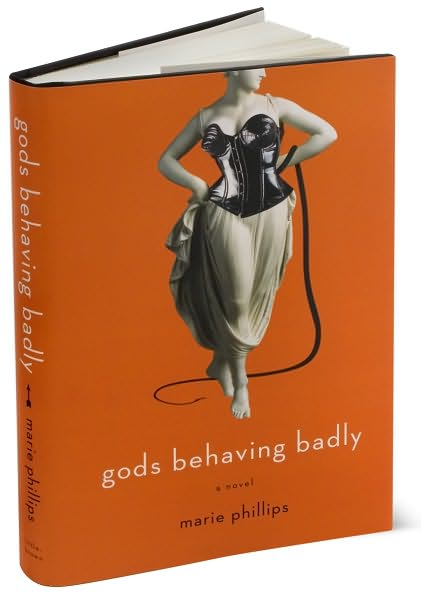 Another Giveaway! Gods Behaving Badly, by Marie Phillips