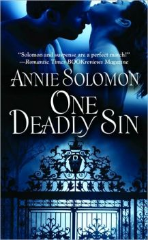 Review & Giveway: One Deadly Sin by Annie Solomon
