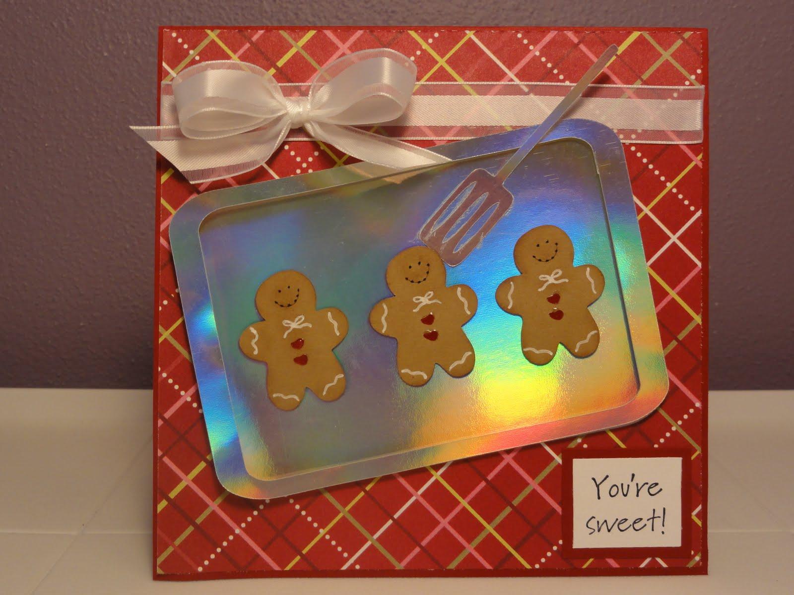 The Cricut Bug: Gingerbread Cookie Card