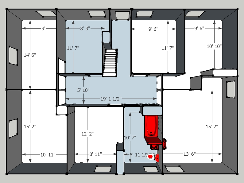 Plan Maison En V Avec Etage