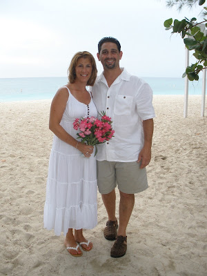 This From New York Decided To Renew Their Vows For 10th Wedding Anniversary While Visiting Cayman With Family Summer