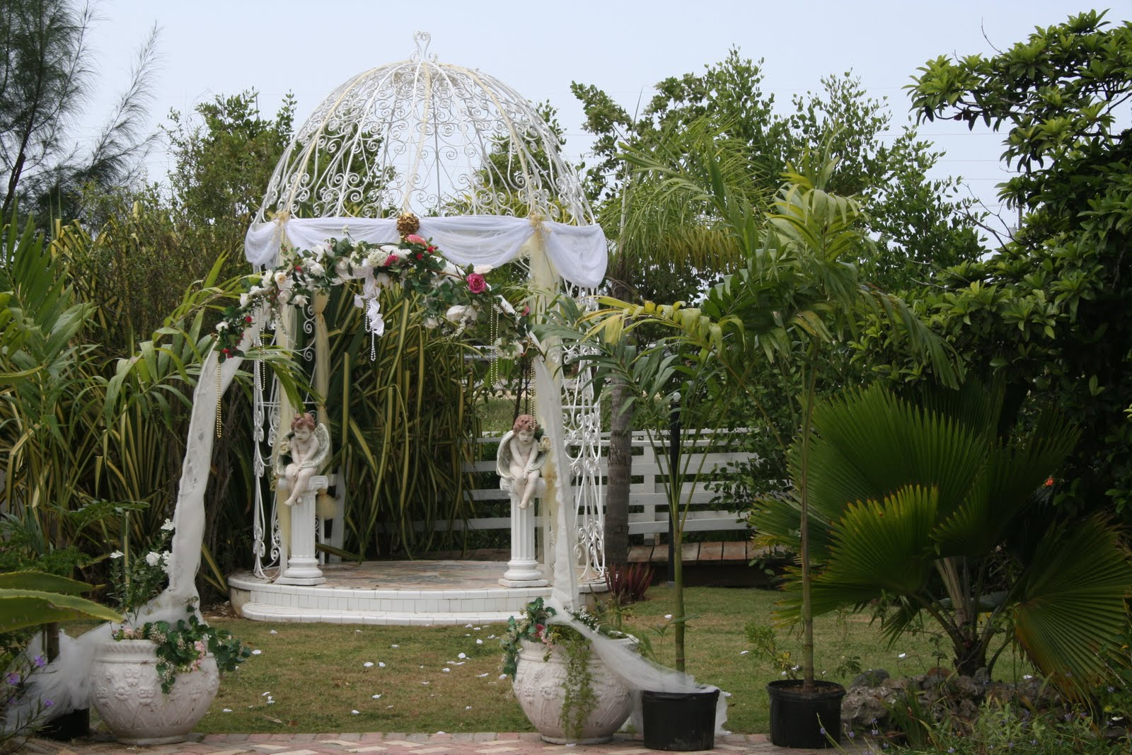 The Joy Of Weddings: Imagine Your Cayman Garden Wedding Here