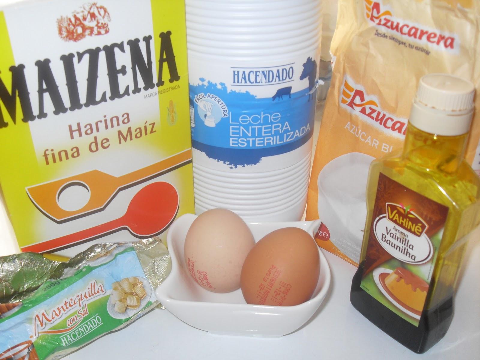 Crema pastelera para rellenar Thermomix