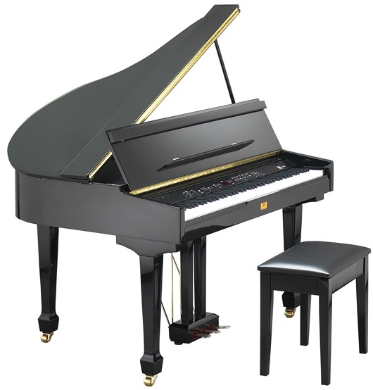 Az piano reviews review williams wgb digital grand for Small grand piano