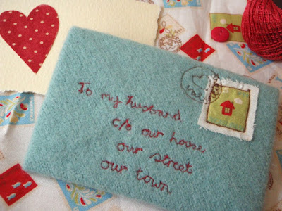 Stitched Love Letter by LucyKate Crafts