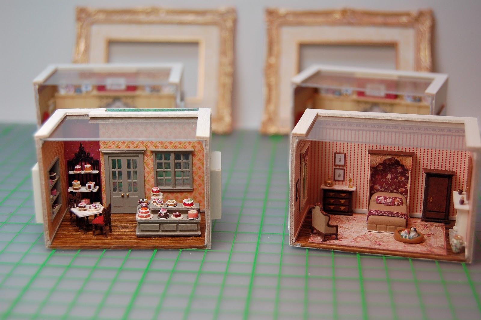 Mini Kitchen Room Box: Nell Corkin: Two More Rooms
