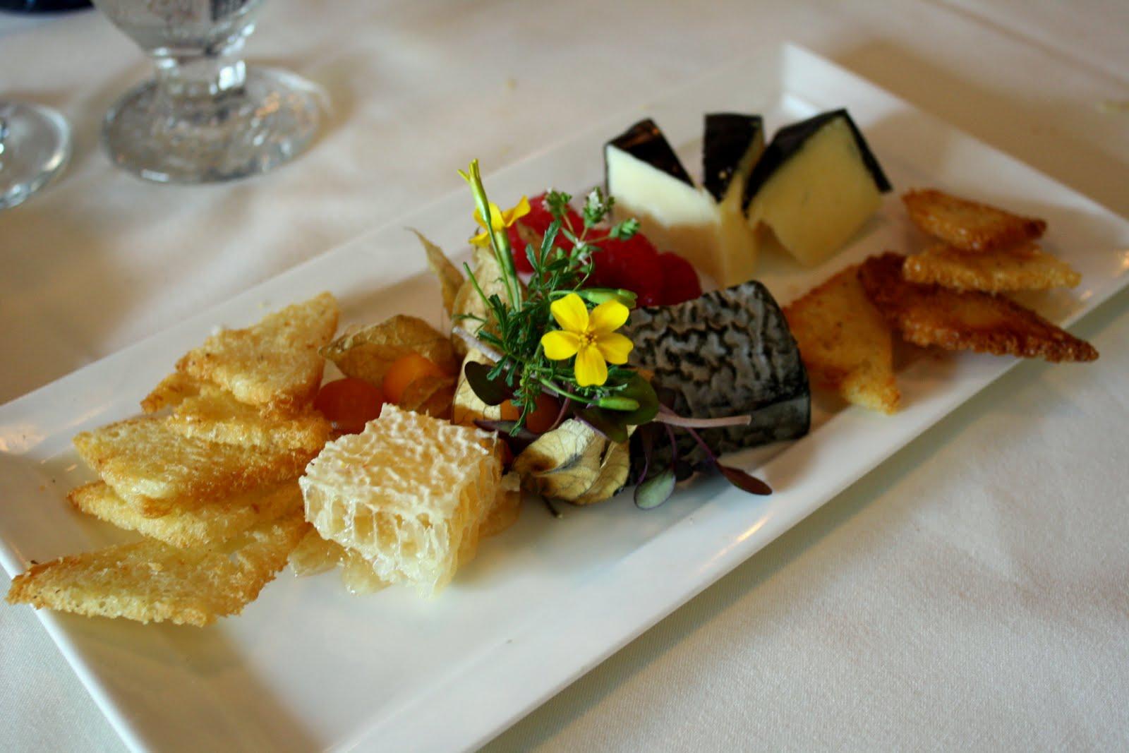 Cheese Tray Presentation
