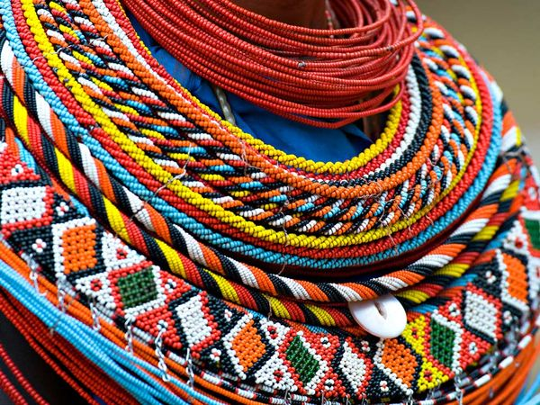 Ŧhe ₵oincidental 208 Andy Be Inspired Maasai Beadwork