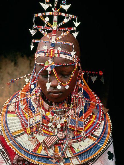 Ŧhe ₵oincidental Ðandy: Be Inspired: Maasai Beadwork