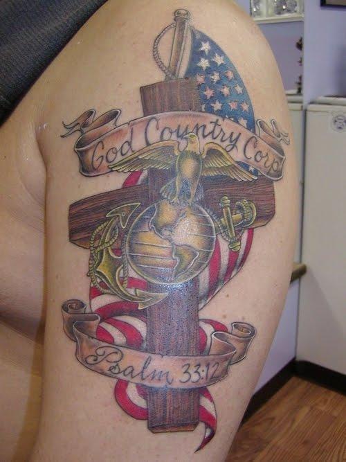 Marine Corps Tattoos Ideas: Tattoos: August 2010