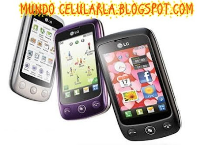 temas para el celular lg kp570
