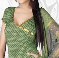Salwar kameez neck model