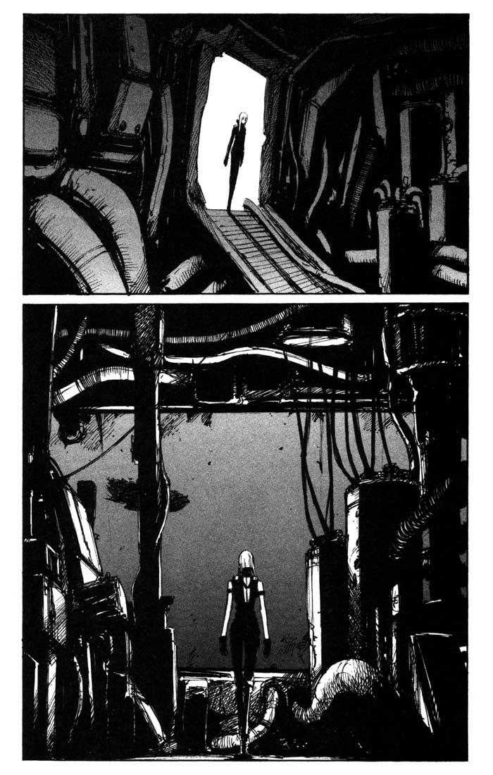 Blame! chapter 40 trang 7