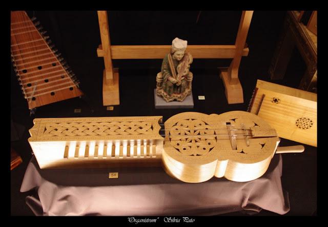 Instrumento medieval fotografiado por Silvia Pato