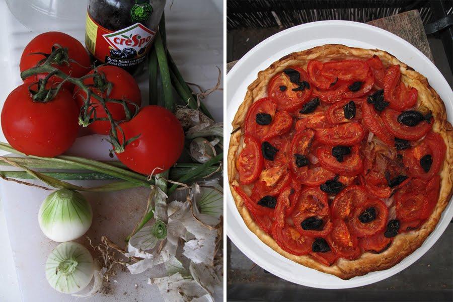 tarte italienne moza