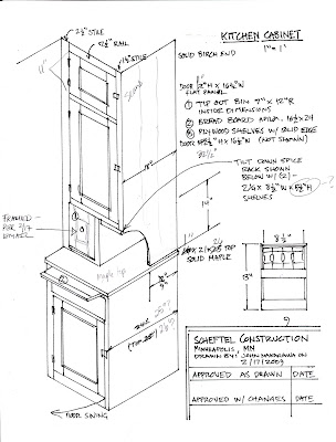 Kitchen Cabinet Design Drawing Cabinets Drawings Free Tool