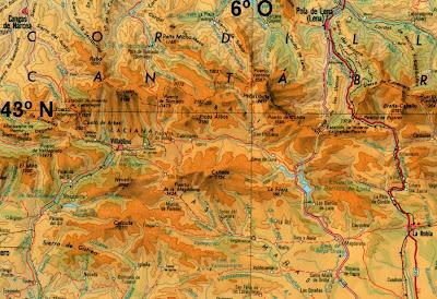 Resultado de imagen de imagenes mapas de tintas hipsométricas