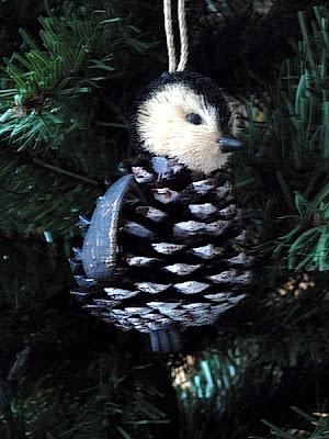My Penguin Tree Pine Cone Penguin