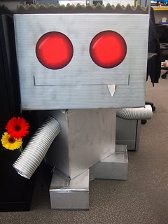 googlebot with flowers
