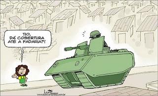 O Brasil gasta muito dinheiro com militares e pouco com professores