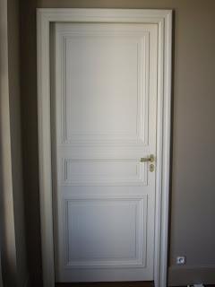 evolution bois porte peinte avec moulure grand cadre. Black Bedroom Furniture Sets. Home Design Ideas