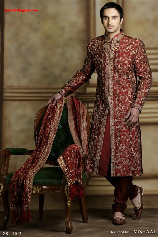 Ethnic Indian Saree For Bride: FASHION 'N' STYLE: Indian Men's Wear—purely Ethnic