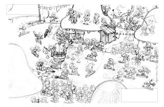 "Miguel Díaz Vizoso - el Migoo: Idée de dessin : ""Tour du ..."