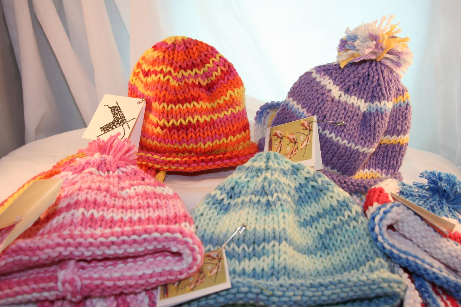 Lucky Talisman: American Girl Knitted Hats and Scarves