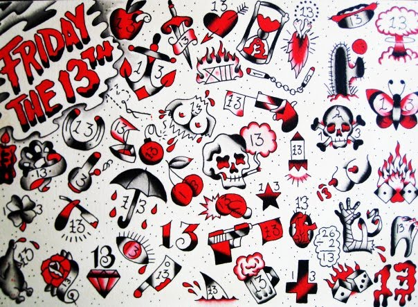 Tattoosday A Tattoo Blog The Great Friday The 13th Tattoo Experiment