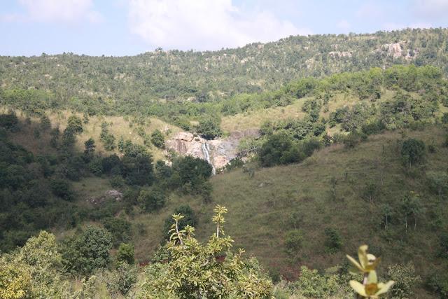 A waterfall close to Bangalore