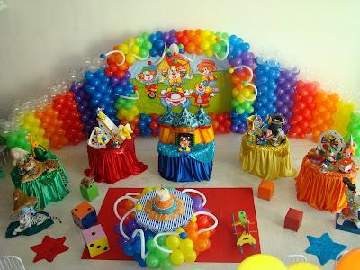 decoração de festa infantil modelos