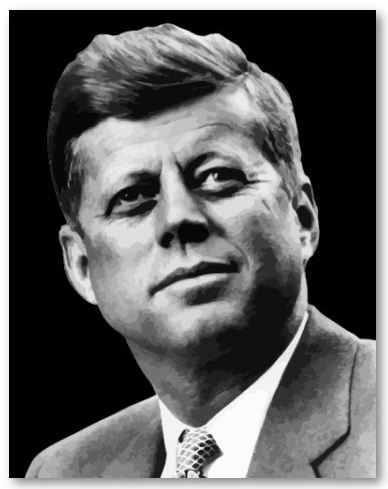 John fitzgerald kennedy was the 35th president of the united states of america kennedy served valiantly during world war two as the commander of pt 109