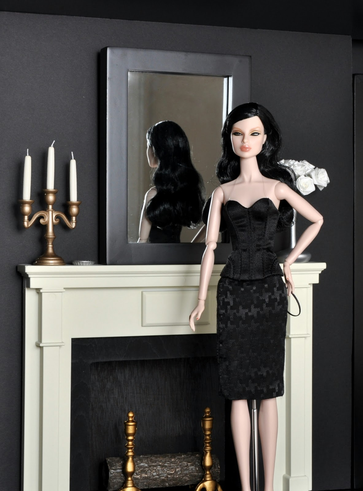 Tatiana S Doll House Home Office Hollywood Dolls