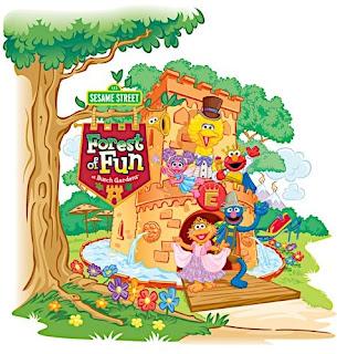 edsouth's Wonderful World of Blog: Sesame Street Forest of Fun