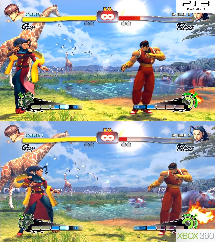 Iqgamer Tech Analysis Super Street Fighter Iv Ps3 Vs 360